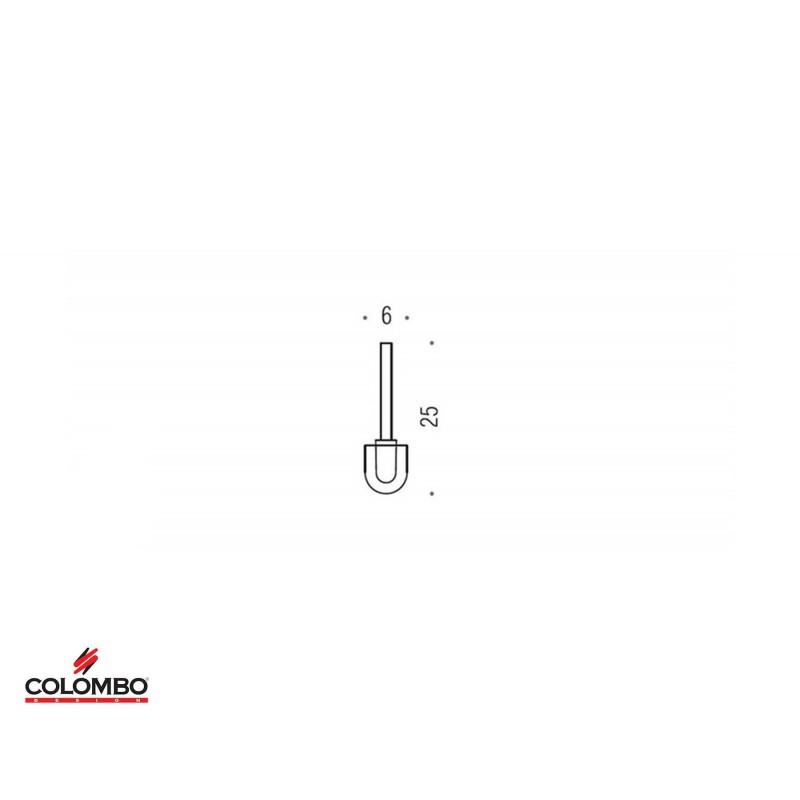 Colombo ricambio ciuffo scopino B2757
