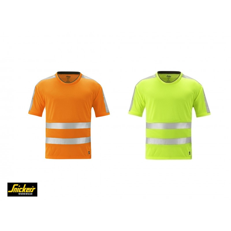 Snickers 2533 - t-shirt alta visibilità