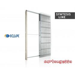 Controtelaio per anta singola Eclisse Syntesis LINE per cartongesso