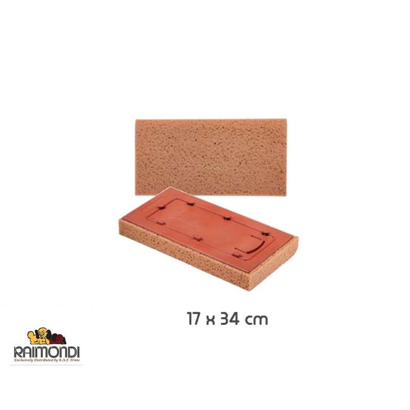 Raimondi - Spugna ricambio frattazzo 17x34