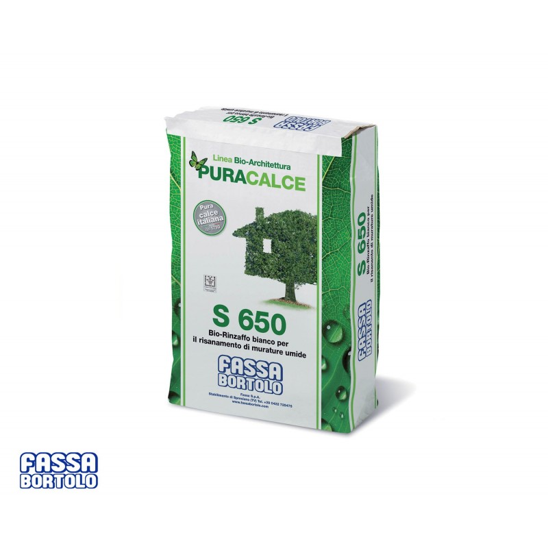 Bio-Rinzaffo bianco S650 - Fassa Bortolo