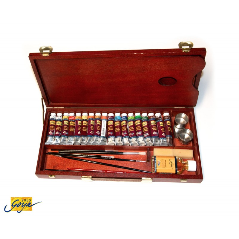 Valigetta SOLO GOYA colori ad olio - 18 colori