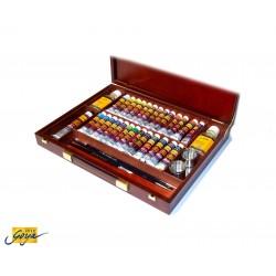 Valigetta SOLO GOYA colori ad olio - 26 colori