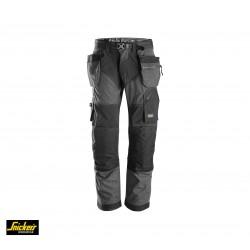 Snickers 6241 - Pantaloni FlexiWork+ con tasche esterne