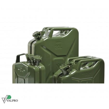 Tanica trasporto carburante OMOLOGATA - chiusura di sicurezza