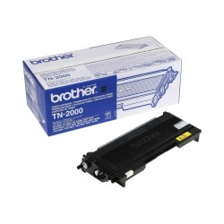 Brother TN-2000 cartuccia toner alto rendimento originale  - nero