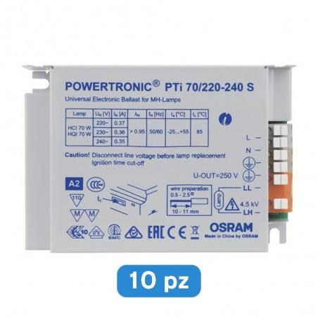 Trasformatore OSRAM PTi 70/220-240 S per illuminazione - 10 pz