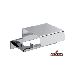 Colombo - Porta Rotolo coperto cromo B1691