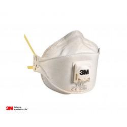 Maschera polveri fumi e nebbie 9312 comfort con valvola cat. FFP1