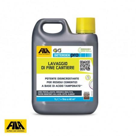 FILA DeterDek PRO - detergente disincrostante fine cantiere
