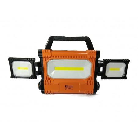 Faro da cantiere LED a 360° - 30W + 20W