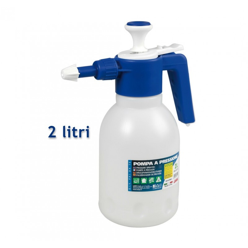 Pompa a pressione 2 litri Epoca VITON