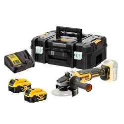 DEWALT smerigliatrice angolare 2 batterie DCG405P2-QW