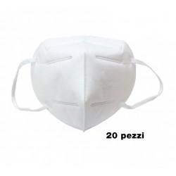 Mascherina pieghevole FFP2 - confezione 20 pezzi
