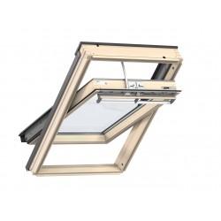 Velux Finestra per tetti a falda in legno naturale con apertura a bilico elettrica