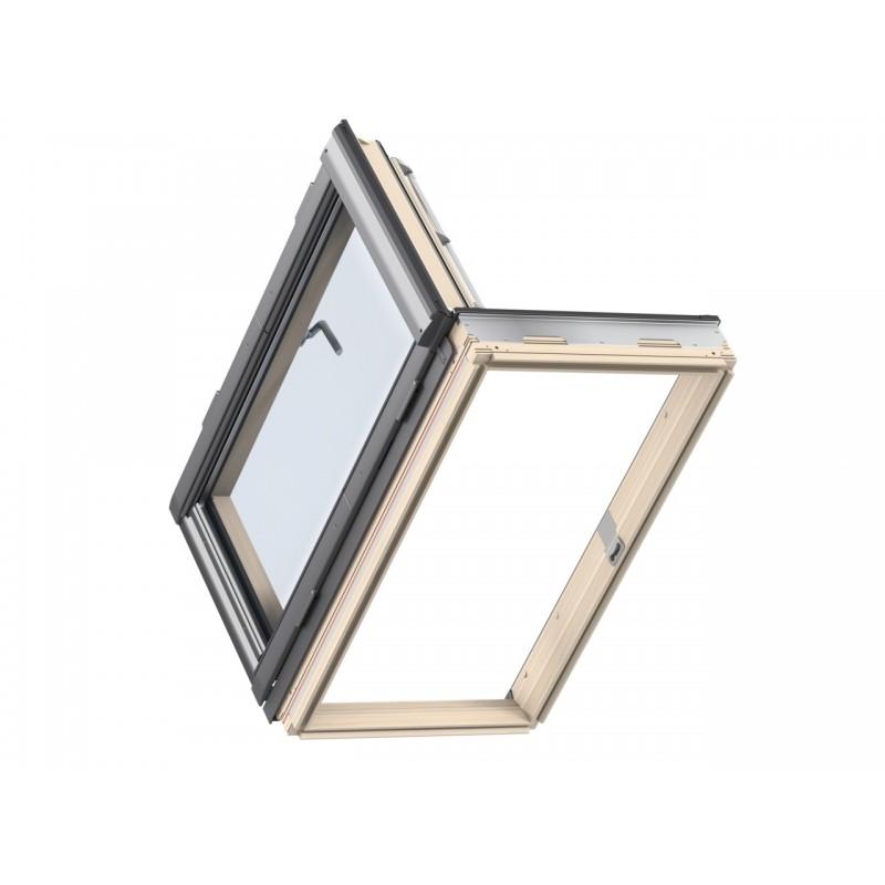 Velux Finestra per l'uscita tetto con apertura a libro manuale