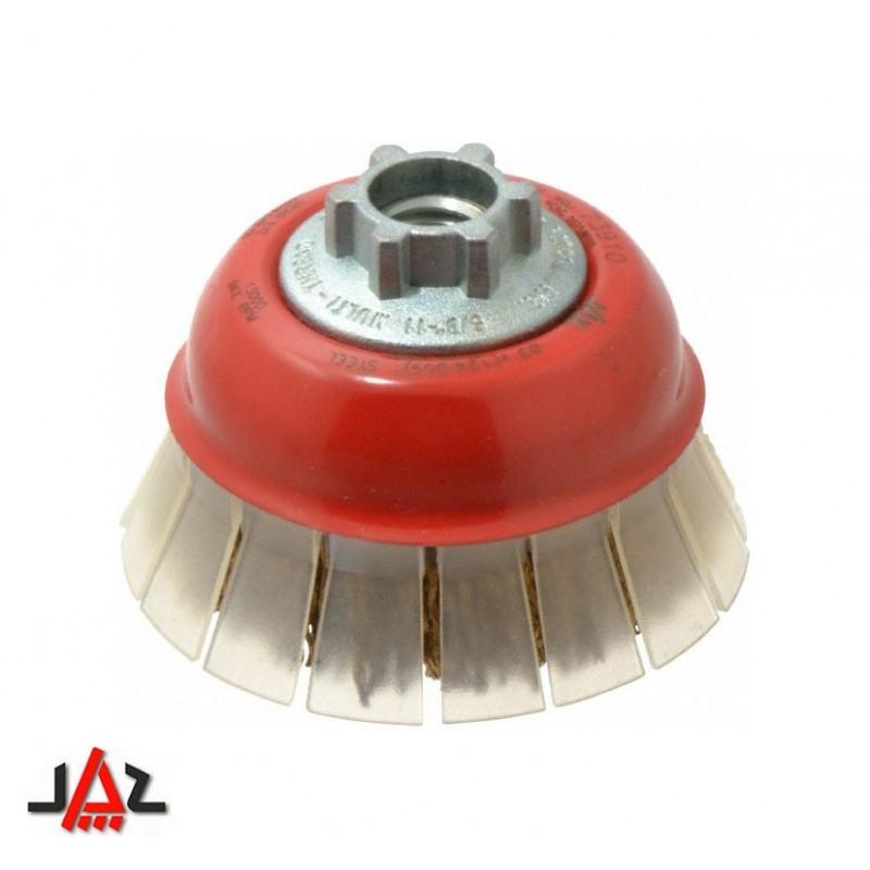 Jaz - Spazzola a tazza con protezione