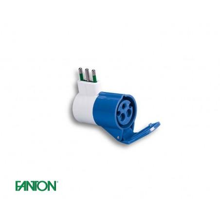 Adattatore industriale CEE Fanton 73000