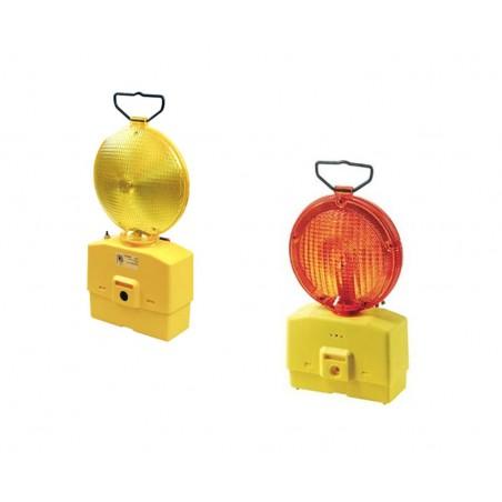 Lampada stradale gialla / rossa