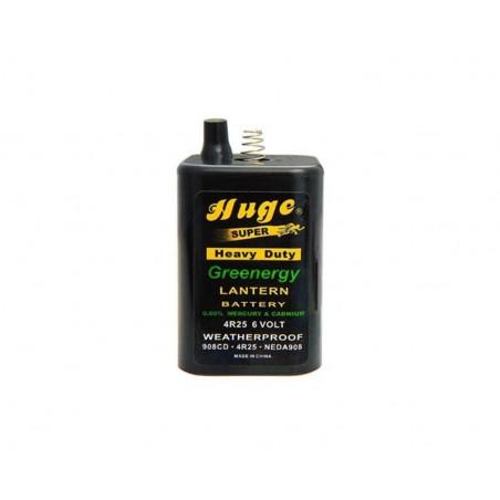 Batteria 4R25 per lampade stradali - 6 volt