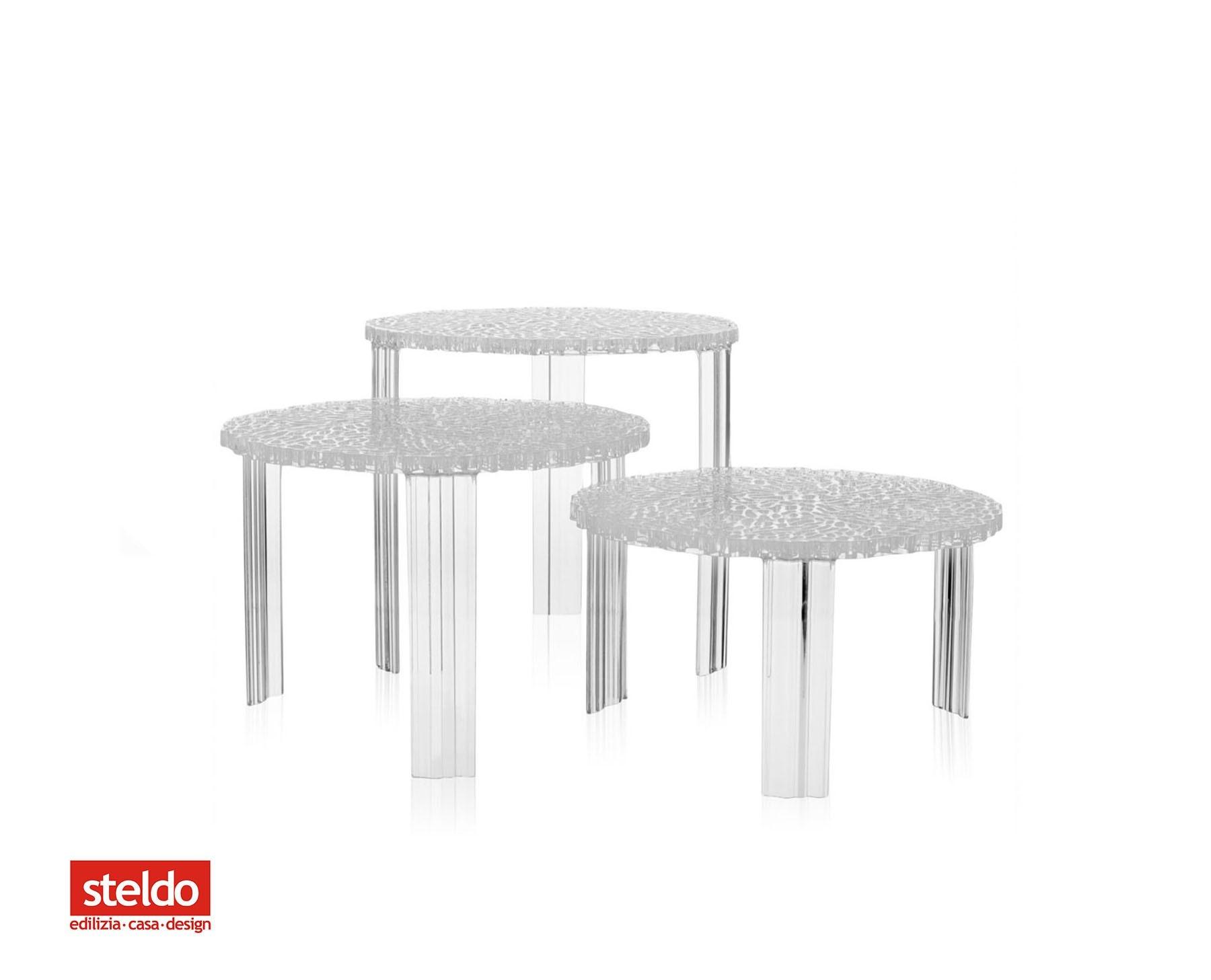 Tavolino kartell t table steldoshop