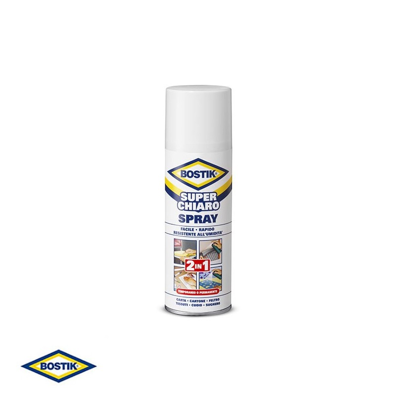 Bostik Superchiaro colla Spray
