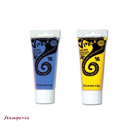 Tubetto colore acrilico Stamperia Vivace 120 ml